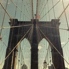 Check out Brooklyn Bridge by philcoffman on Creative Market