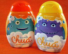 Essa dupla dinâmica vai tornar a hora do banho muito mais divertida e saudável.  #horadobanho #crianças #shampoo #condicionador