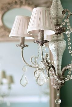 Vintage French Soul ~  French Country lighting. Love every part of this.