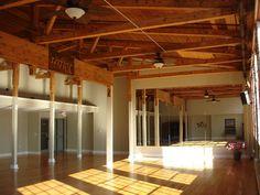 Dream dance studio: The Joy of Movement Studio, Chatham Mill in historic Pittsboro, NC.