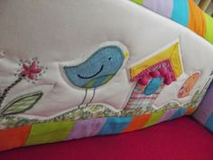 quilting bumper pad for baby crib