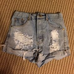 One teaspoon shorts! BRAND NEW Outlaw one teaspoon shorts. Perfect condition, never worn. One Teaspoon Shorts Jean Shorts