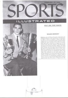 """Wilson Dennehy's """"Sports Illustrated"""" Cover in 1956"""