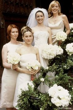 The Best Movie Wedding Dresses Movie: Sex and the city