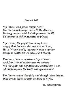sonnet 147