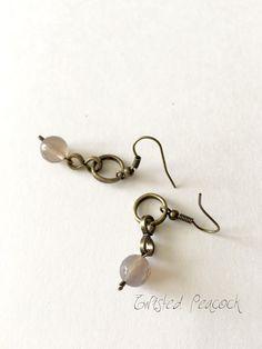 Agave beaded earrings by TwistedPeacock