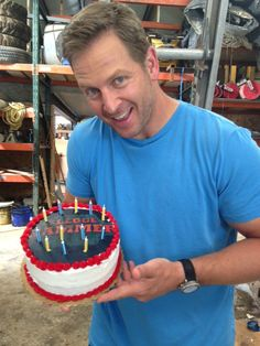 "Not so fast with the ""Happy Birthday"" song. Watch Jason Cameron smash Sledgehammer's cake to see how high it flies."