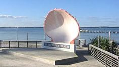 Quietwater Beach - Pensacola, Fl; this is a sweet little boardwalk area with some fantastic shops!