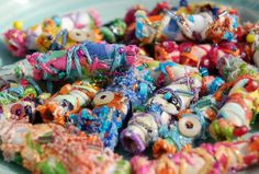 fabric beads | Flickr - Photo Sharing!