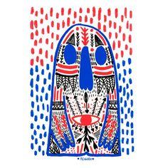 Camisetas para chico, Camiseta para chica, Camiseta niño unisex, sudaderas, tote bags, Body o babero personalizadas con Blue Monster de Pili Aguado. Vístete con arte con T-agged.com