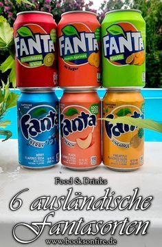 Nachdem mein erster Fanta Taste Test noch immer einer meiner meistgeklickten Beiträge ist, folgt heute der zweite Teil. #foodblogger #tastetest #bloggernetzwerk #fanta Fanta Can, Foodblogger, Caffeine, Soda, Pineapple, Strawberry, Peach, Canning, Drinks