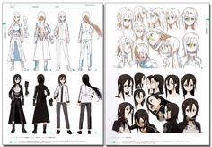 Sword Art Online Design Works Official Art Book - Anime Books
