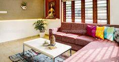 വീതി കുറവ് ഒരു കുറവേ അല്ല; ഇതാ ഉദാഹരണം! | small space home | small plot house plans kerala | Home Plans Kerala | House Plans Kerala | Home Style | Manorama Online Best Home Design Software, My Home Design, Kerala House Design, Kerala Houses, Architecture Plan, Small Spaces, Home Goods, Family Room, House Plans