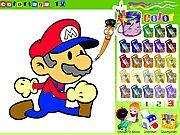 Game tô màu Mario. Trò chơi tô màu hay dành cho trẻ em