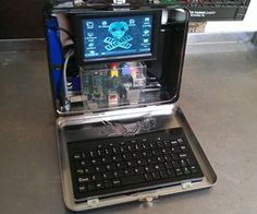 This is a quick and easy project to build a portable Raspberry Pi computer that fits right in a lunch box. It's a good first Pi project since it requi...