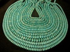 Turquosie Beads, Domestic: Bisbee, Sleeping Beauty, Carico & More! Chinese Turquoise Beads Also Available