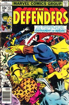 The Defenders 63 September 1978 from Marvel Comics copy 1 Marvel Comics Art, Marvel Comic Books, Comic Books Art, Marvel Dc, Comic Art, Book Art, Marvel Characters, Marvel Defenders, Univers Marvel