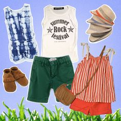 Festival chic for kids // www.kid-a.gr #kids