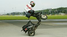 In the latest short from Taipei production team Kuma Films (previously), daredevil Anpei Yo performs a number of impressive freestyle tricks on an electric scooter. Kuma also created a behind the s...