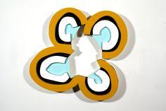 David Ryan n2yo.com/?s=39285,2013 20 ¼ x 21 ¼ x 2 ¼ in, 51.4 x 54 x 5.7 cm Acrylic on expanded PVC  via Galerie Richard, NY