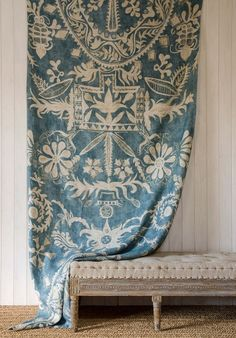 Lewis & Wood WOMAD linen in celestial