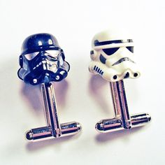 Is your fiancee a geek? If so, visit Crimson Kings etsy shop! They have a huge selection of Lego figures including Darth Vader in a tux, Chewbacca, Indiana Jones and Harry Potter.