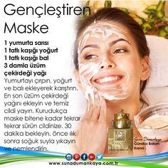 Gömülü resim Homemade Skin Care, Homemade Beauty, Mask Makeup, Natural Remedies, Beauty Care, Beauty Hacks, Beauty Tips, Natural Healing, Healthy