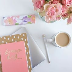 Having a super busy day in the office today working on lovely client logo designs and website layouts! Happy Wednesday all x