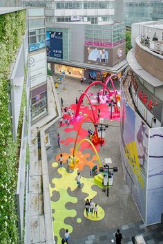 Shanghai von in Paint Drop - Marthe Edal - # # . - Shanghai von – Marthe Edal in Paint Drop # - Landscape And Urbanism, Landscape Architecture Design, Urban Architecture, Urban Landscape, Urban Design Concept, Urban Design Diagram, Urban Design Plan, Shanghai, Design D'espace Public
