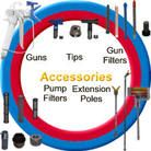 Order On-Line and SAVE  All Spare Parts Ordered Online From Airless Spare Parts Section recieve FREE Freight !!