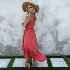 Day To Night Dresses, Flattering Dresses, Maxis, Ankle Length, Fitness Models, Lace, Cotton, Red, How To Wear