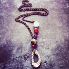 Old Rio Druzy Necklace