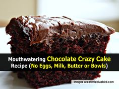 Most people would love to have a great chocolate cake any time that they wanted something sweet, but there are many times when you just do not have the ingredients or equipment to bake a cake from scratch. There are thankfully a number of really simple recipes that allow you to enjoy a tasty chocolate cake without having to make a quick trip to the grocery store. This saves time and money, while also allowing you to satisfy your sweet tooth. I came across a great recipe with details on a…