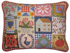 patchwork needlepoint photo | NeedlepointUS - World-class Needlepoint - Primavera Needlepoint ...