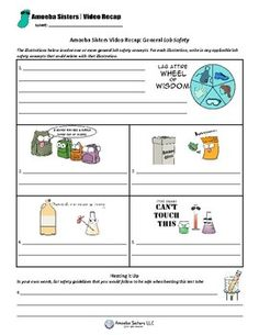 Use our handouts and looking for answer keys check out our teachers free student lab safety handout by the amoeba sisters exciting science labs approaching fandeluxe Image collections
