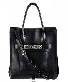 The New PS11 Tote Large in Black