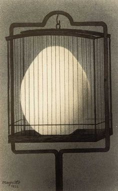 Relative Size to Other Objects Rene Magritte - Le Affinites de Electives 1932