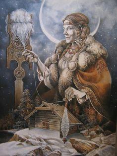 Славянские Боги: Богиня Макошь