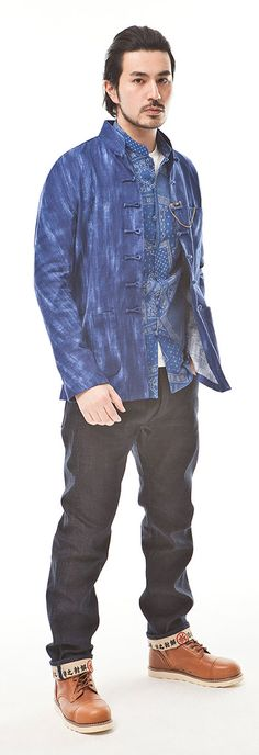 High Quality Men Traditional Chinese Jacket Style Original Tang Suit