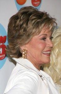 Jane Fonda-Short Celebrity Hairstyles Over 60 l www.sophisticatedallure.com