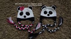 Passo a passo Touca Ursinho Panda Parte-2