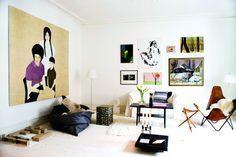 Sophie Simone's apartment on Bolig