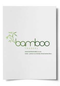 Bamboo Traders Corporate Identity by Charl du Plessis, via Behance
