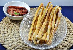 Grissini ai pomodori secchi con lievito madre, ricetta lievitati