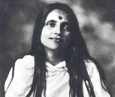Sri Anandamayi Ma was a Hindu spiritual teacher and guru from Bengal, considered a saint by many and hailed as one of the prominent mystics of the 20th century. During her life, she attracted thousands of followers who saw her not only as a teacher and guru, but as a manifestation of God, or Devi.