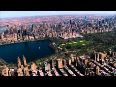 Central Park and NYC Aerial - YouTube