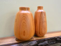 Phil Gautreau debuted a beautiful line of vases at BKLYN Designs.