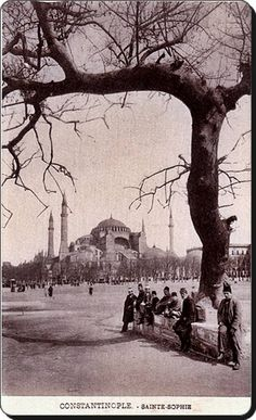 1900 Hagia Sophia in 1901 The German . - ismail 11 - - 1900 Hagia Sophia in 1901 The German . Hagia Sophia, Istanbul Pictures, Greece With Kids, Ottoman Empire, Istanbul Turkey, Istanbul City, Historical Pictures, Old City, Greece Travel