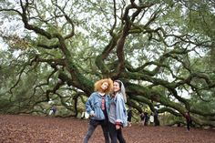 Sylvia The #HipHopNutcracker 's Maria Clara with her fellow cast member B-Girl Frak (Chocolate ensemble dancer) at The #AngelOakTree .  Photo by @boo_jenkins aka #DJBoo  #SouthCarolina #DanceLife #Dancers  #Nature #GoodTimes with #GoodPeople  Check out our next appearances:  Saturday December 19th #Newark  #NewJersey  New Jersey Performing Arts Center #NJPAC 1 Center St. Newark New Jersey 07102  http://ift.tt/1Ql3nha  Monday December 21 #Schenectady  #NewYork #Proctors 432 State St…