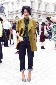 Katerina: How to wear: Boyfriend jeans